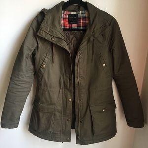 🌴SPRING BREAK SALE🌴 Olive Canvas Jacket
